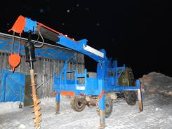Продается буровая-ямобурная установка Aichi D704