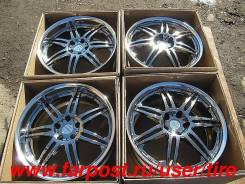 "Work Varianza T1S. 8.5/9.5x19"", 5x114.30, ET43/45, ЦО 73,0 мм."