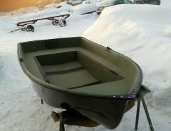 Лодка вёсельно-моторная Язь 3-х местная
