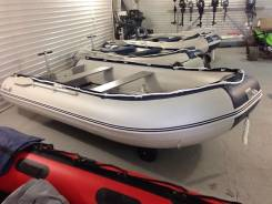 Новая надувная моторная лодка ПВХ Barrakuda 380. Гар-я 3 года