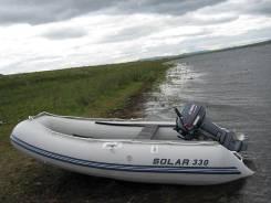 Надувная лодка Solar 330, новая, 2 года гарантии во Владивостоке