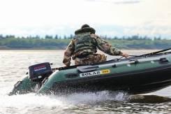 Надувная лодка Solar 380, новая, 2 года гарантии во Владивостоке