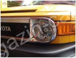 Накладка на фару. Toyota FJ Cruiser, GSJ10W, GSJ15W 1GRFE