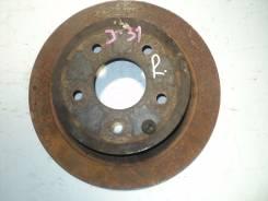 Диск тормозной задний Nissan Qashqai 07-/ JUKE 10-/Teana J31/32