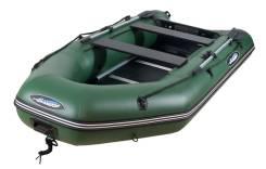Лодка моторная с жестким полом Gladiator B300DP, Оф. дилер Мото-тех