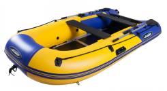Лодка моторная с жестким полом Gladiator B370AL, Оф. дилер Мото-тех