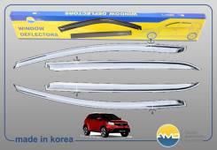 Ветровики хром Ssangyong New Actyon/Korando 2010 - наст. время
