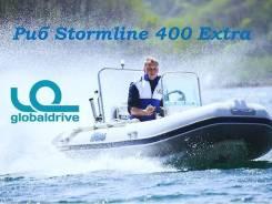 Корейская лодка Mercury Риб 400 Extra с консолью, 5 лет гарантии