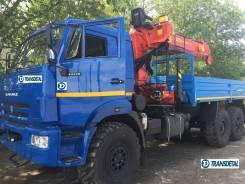 Автомобиль бортовой Камаз 43118 с КМУ Palfinger Инман ИТ-150