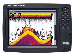 Lowrance LCX-110,  Картплоттер Эхолот Радар + карта.
