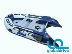 Корейская надувная лодка ПВХ Mercury Airdeck Standart 380 надувное дно