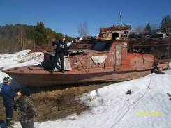 Корпус катера КС-100А