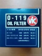 Фильтр масляный на Toyota O119 VIC Japan, на Борисенко