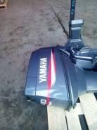 Лодочный мотор Yamaha 40 лс нога L, гидроподъем электро и ручной пуск