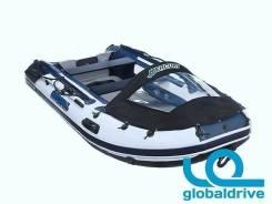 Корейская надувная лодка ПВХ Mercury Airdeck Extra 380, надувное дно