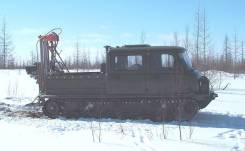 Буровая установка УБШМ-13 на базе вездехода ЗВМ2411 ГП (Узола)