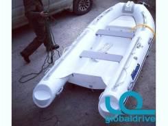 Корейская лодка Mercury Риб 400, стеклопластиковое дно, гарантия 5 лет