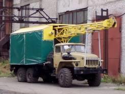 Буровая УКБ-5С на базе урал 4320