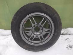 Диски Kosei K1-TS с летней резиной Bridgestone