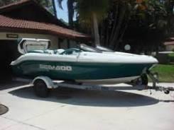 Продам катер Sea Doo Challenger 180. 1997 г. (водомет) BRP Sea-Doo во