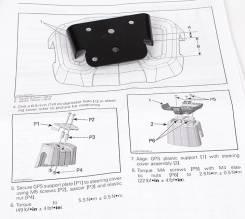 Адаптор крепления навигатора GPS на руль для квадроцикла BRP