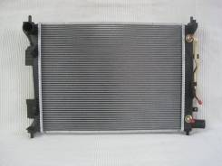 Радиатор охлаждения двигателя. Hyundai Veloster Hyundai i20 Hyundai Solaris, RB Hyundai Accent Kia Rio, QB, UB Kia Pride G4FA, G4FC, G4FD