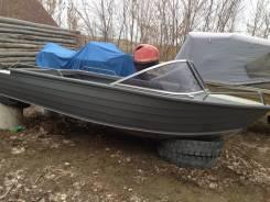Продам алюминиевую моторную лодку Quintrex 455