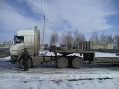 МАЗ седельный тягач + трал ES-GE 45 тн.