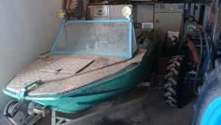 Продам лодку Ока , стационарный двигатель 1-gz. водомет
