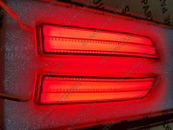Led стоп-сигналы в задний бампер Toyota RED