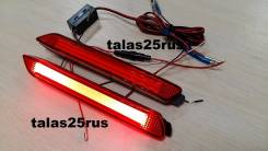Фонари в задний бампер Toyota Vellfire, Toyota Alphard (LED. Красные)