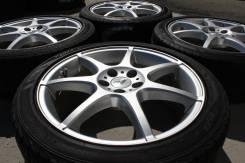 215/45 R 17 Bridgestone Playz RZ-1 литые диски 5х100 R17 (L3-001)