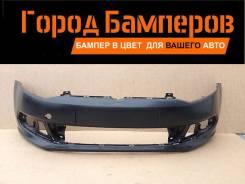 Новый передний бампер Volkswagen Pol 10-14 6RU807221GRU Россия