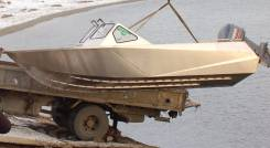 Цельносварная алюминиевая лодка барракуда