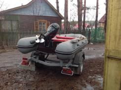Моторная лодка с прицепом Фрегат 320, 15лс