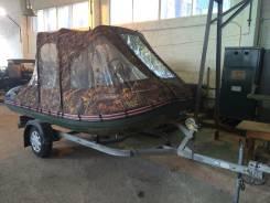 Продам лодку Korsar с прицепом и мотором, водомет