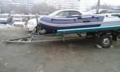 Лодка с мотором + телега 95рублей
