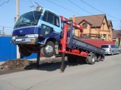 Nissan Diesel. Японский грузовик эвакуатор, 7 000куб. см., 5 000кг., 4x2