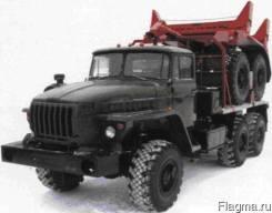 Трубовозный тягач на базе Урал 43204-1153-41