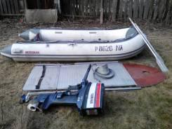 Лодка с мотром