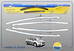 Дефлекторы окон Chevrolet  Cruze хэтчбек  2011 - наст. время