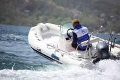В наличии Корейская лодка Mercury Риб400Standrart с консолью,5лет гар.