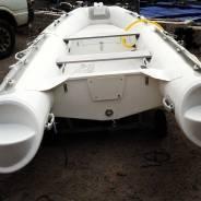 Корейская лодка Mercury Риб400, стеклопластиковое дно, гр-я 5лет