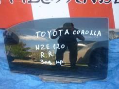 Стекло двери заднее правое Toyota Corolla NZE121 седан