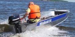 Windboat. 2019 год, длина 3,80м., двигатель без двигателя, 15,00л.с., бензин. Под заказ