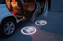Подсветка в Двери(проекция) Land Cruiser 200 08-15 год(Замена Штатной)
