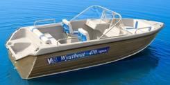 Wyatboat. 2019 год, длина 4,75м., двигатель без двигателя, 60,00л.с., бензин. Под заказ