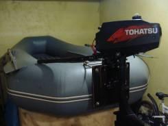 Продам лодочный мотор tahatsy c лодкой murena