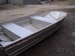 Продам аллюминиевую лодку