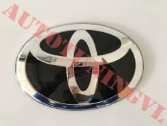 Эмблема на решетку Черная Toyota на Land Cruiser 200, Prado 150